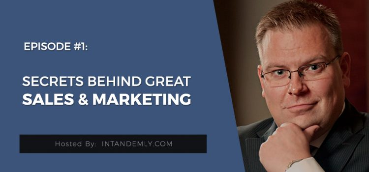 Sales and Marketing alignment with Jani Aaltonen