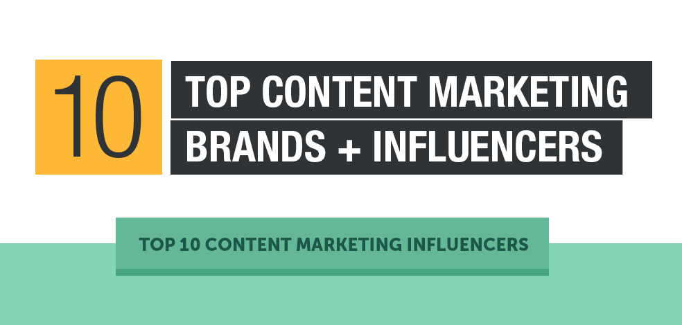 10 Top Twitter accounts on Content Marketing Influencers