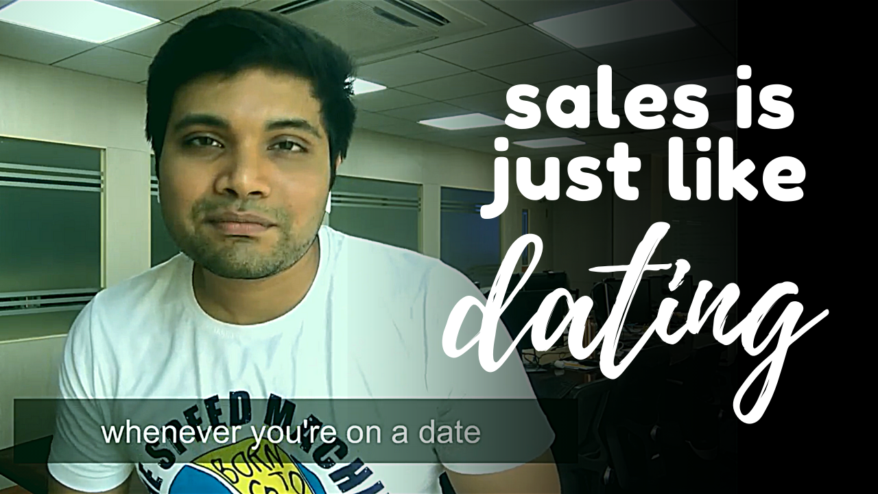 5 simple Tips for successful Sales from the world of Dating!