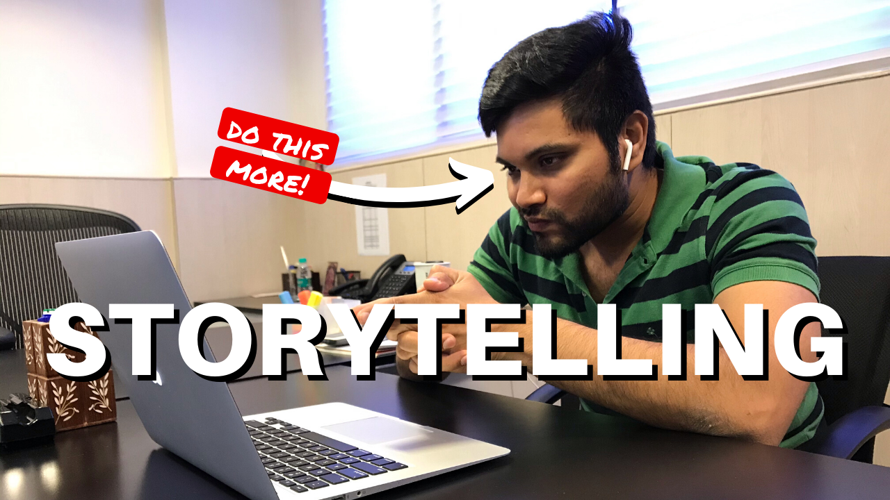 Great sales people are good story tellers. You can be too!