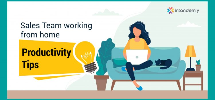 Working From Home Tips for Sales Productivity