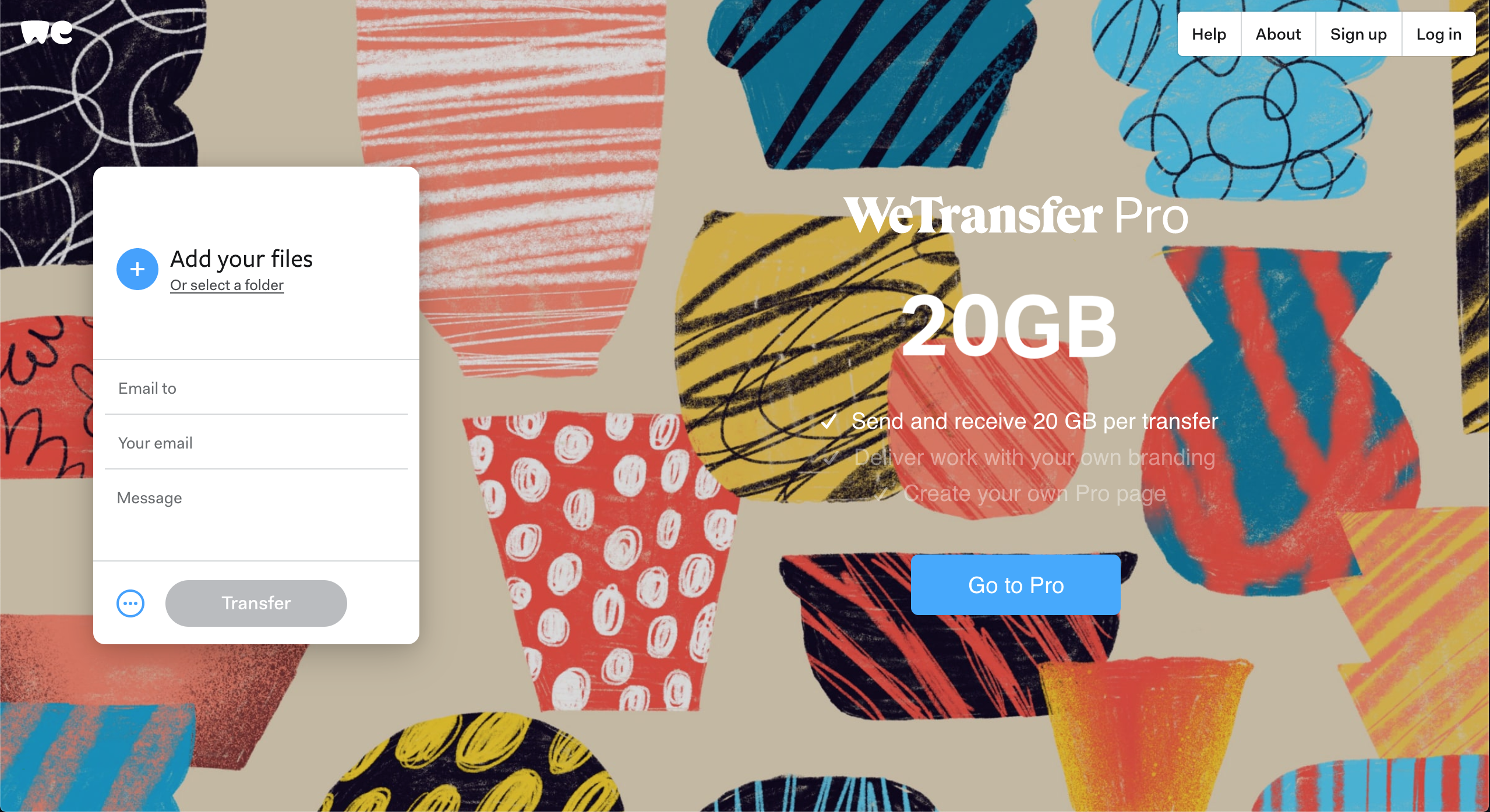 Remote Working Tools - WeTransfer