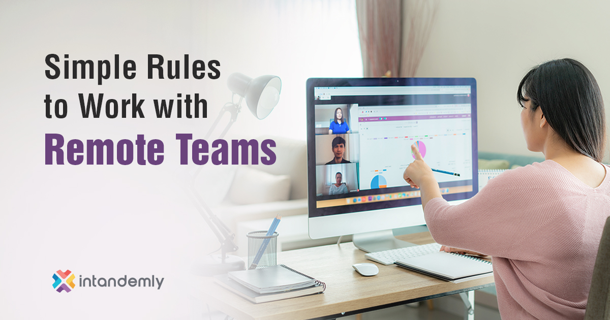 10 Simple Rules Improve Remote Team's Productivity